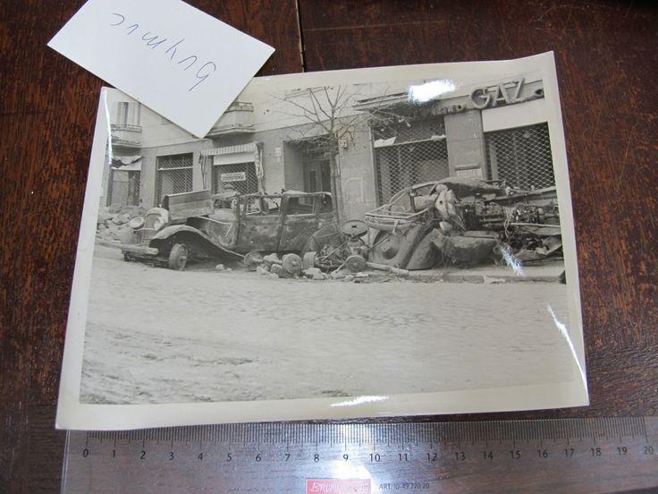 BUYMUC LARGE FOTO Polska Zerstörung in Warschau 12,5,16   eBay