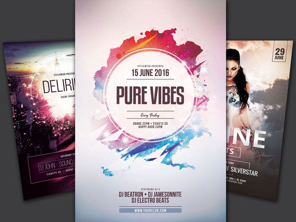 82 Best Best Party Flyer Design Images On Pinterest | Flyer