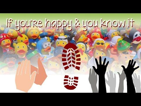 If you're happy and you know it (instrumental - lyrics video for karaoke)