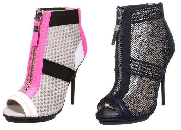 Gx By Gwen Stefani Botines Bajos Pink Grey White botas y botines white Stefani Pink Gx