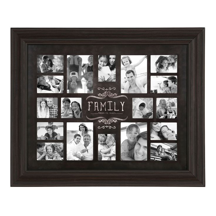 Family Forever and Always Collage Frame | Kirklands