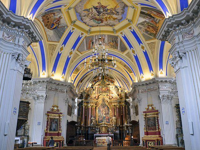 Eglise baroque St Nicolas de Veroce © Claire Angot