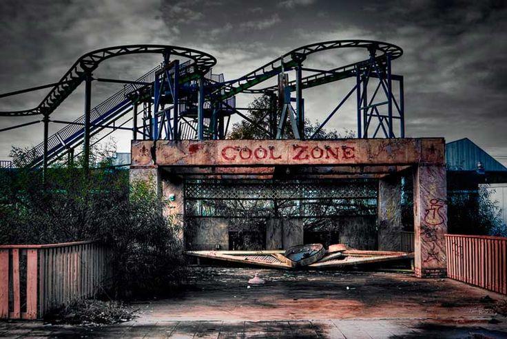 Six Flags amussement park Jazzland (New Orleans, USA)