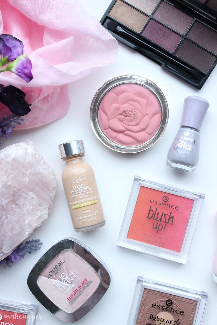 Pretty products that won't break the bank, because everyone wants a beauty bargain right?! Featuring L'Oreal, Essence & Milani - check out the blog post...