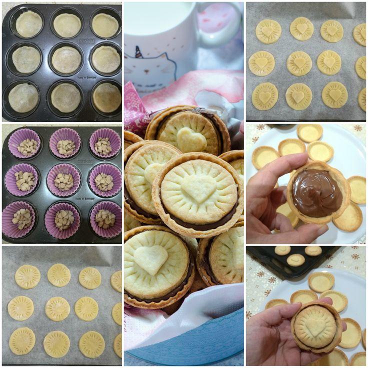 Biscotti alla Nutella facili da preparare e golosissimi