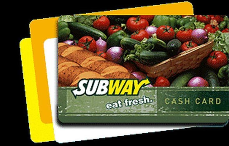 #Coupons #GiftCards Subway Gift Card $100 Balance #Coupons #GiftCards