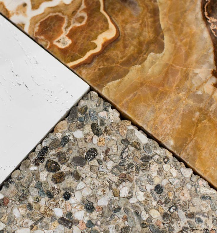 Céline Store Soho, marble textures / Garance Doré