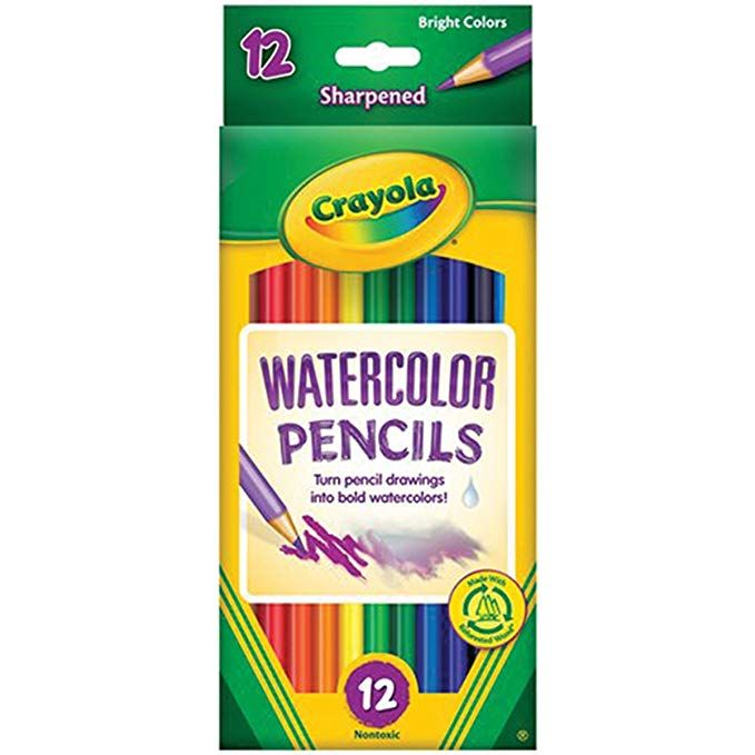 Amazon Com Crayola 12ct Watercolor Colored Pencils Gateway