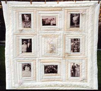 Memory Quilt Blocks Photo Transfer Memory Quilts Quilt
