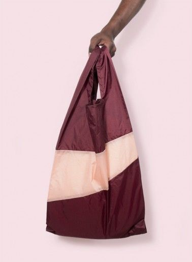 Burgundy + Powder Bag - Susan Bijl