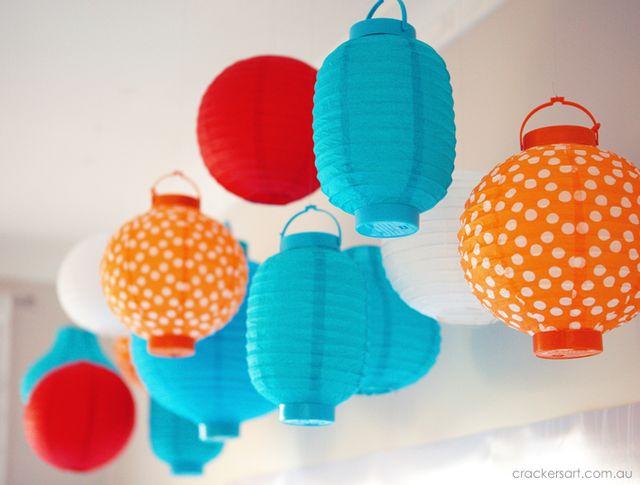 Paper lantern party decorations #paperlantern