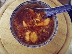 Süß-saure Suppe.....wie beim Chinesen