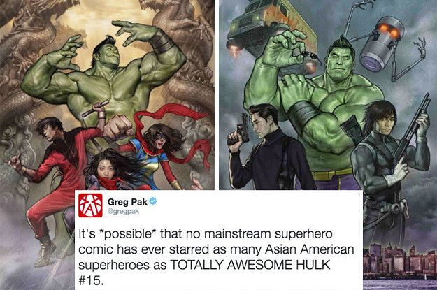People Are Super Excited At The Asian Representation In This Comic