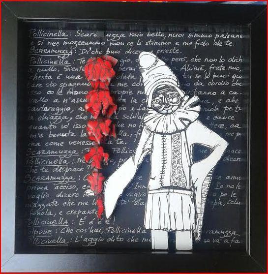 """LE STANZE DI MOMA: """"PULICINELLA"""" con testo tratto da """"La Lucilla cost..."""