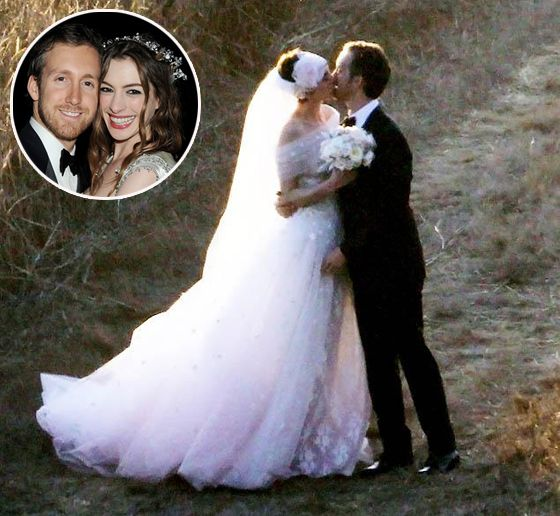 Anne Hathaway's Beautiful #vegan Wedding