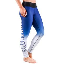 Women's Tampa Bay Lightning Royal Gradient Print Leggings