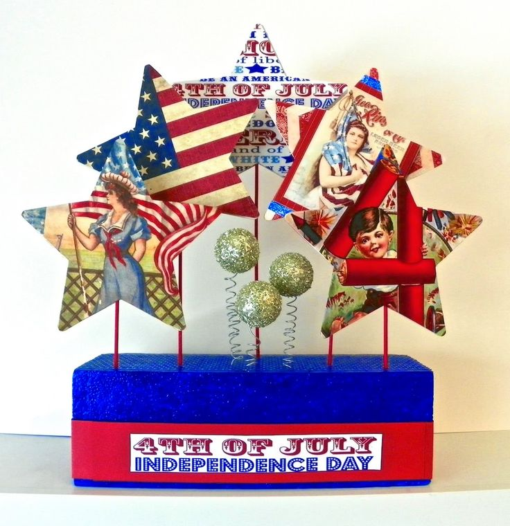 Lisa Liza Lou Designs: Make a Fourth of July Centerpiece with Craft Attitude
