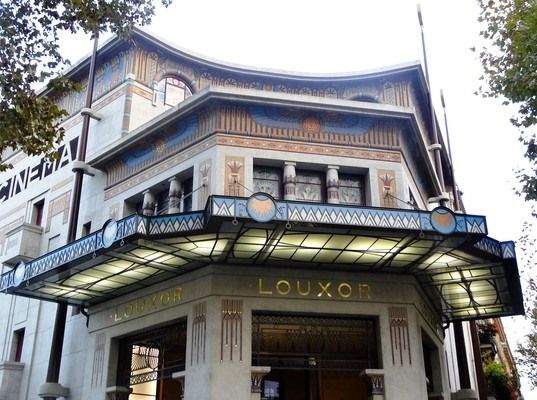 Discover Le Louxor Palais Du Cinema In Paris France Egyptian Revival Movie Palace Abandoned For Decades And Restored