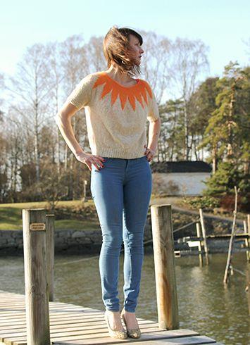 Pickles - Sunbeam-top - Knitting Pattern/Yarn Kit