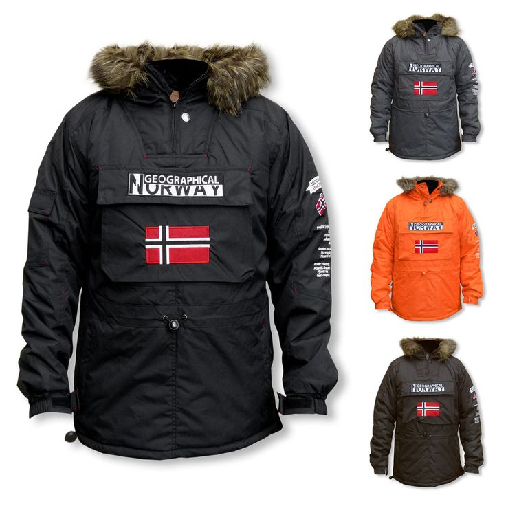 Geographical Norway Building Herren Winterjacke Funktions Kapuzen Jacke Farbwahl in Kleidung & Accessoires, Herrenmode, Jacken & Mäntel | eBay