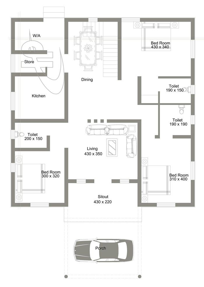 3 Bedroom With Roof Deck House Design Pinoy Eplans House Deck Cabin House Plans House Plans