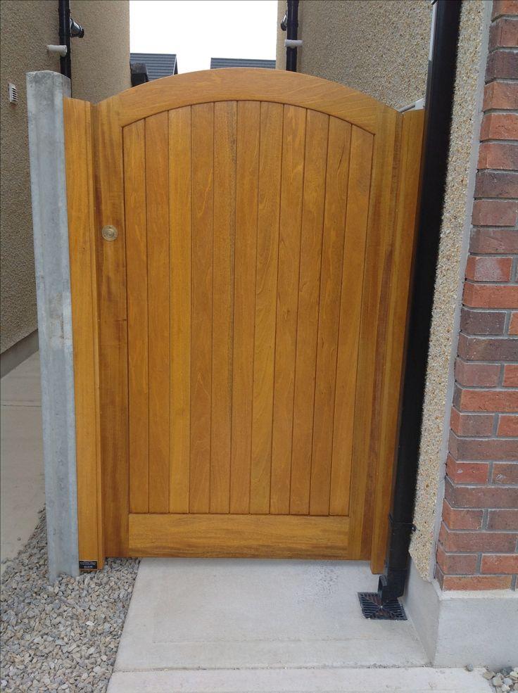 Hardwood Framier side gate by Burke Joinery