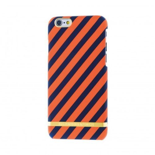 Richmond-amp-Finch-Satin-Stripes-Case-for-iPhone-6-S-Tangerine