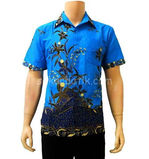 Kemeja batik pria KP20 http://sekarbatik.com/baju-kemeja-batik-pria/