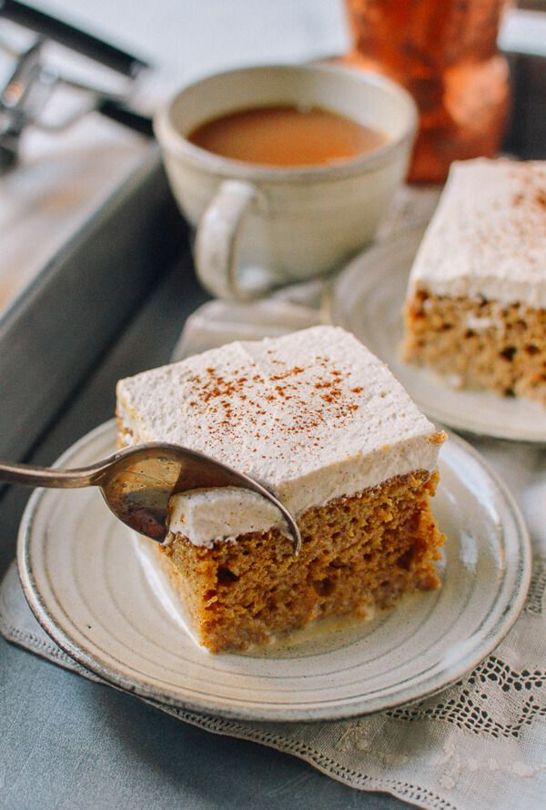 #Pumpkin #Tres #Leches #Cake recipe by the Woks of Life