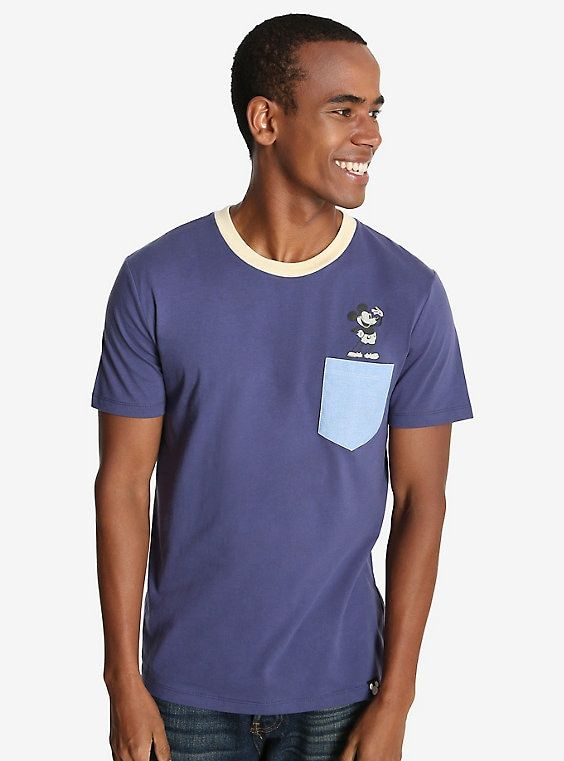 656e0d36c5 Disney Mickey Mouse Heritage Pocket T-Shirt - BoxLunch Exclusive in ...