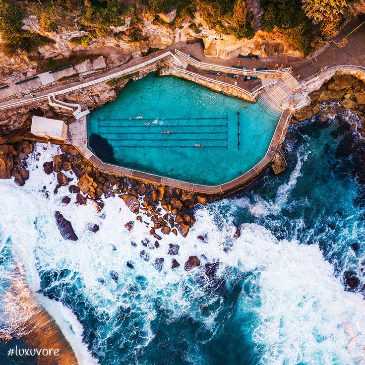 This pool in Bronte Beach, Australia is probably the most beautiful place you can go for a swim. ➡️ join @luxuvore if you feel like it! #luxuvore Enjoy the MUSIC we curated for you https://smarturl.it/freshsnd #travel #pool #luxury #travelgram #traveling #travelphotography #swimming #luxurylife #travelling #traveller #travelblogger #travels #traveler #travelpic #travellife #instatravel #wanderlust #photography #travelblog #nature #swimmingpool #travelbug #travelers #travelgirl #trip #insta