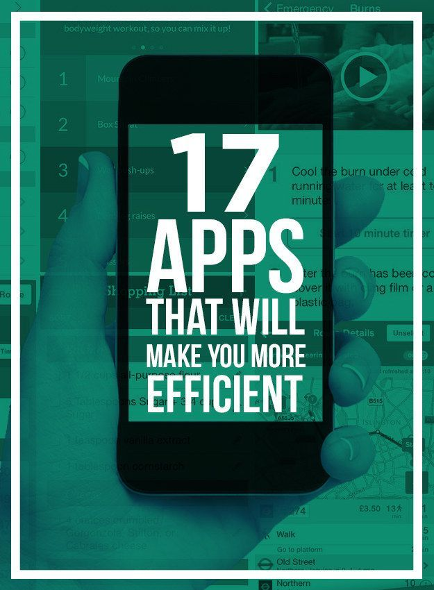 17 Apps That Will Make You More Efficient | How do you increase your productivity? Use these 17 productivity apps!