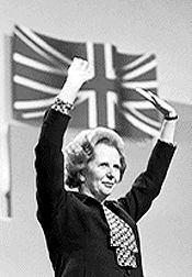 Margaret Thatcher, British Prime Minister from 1979-1990, was born on October 13, 1925.