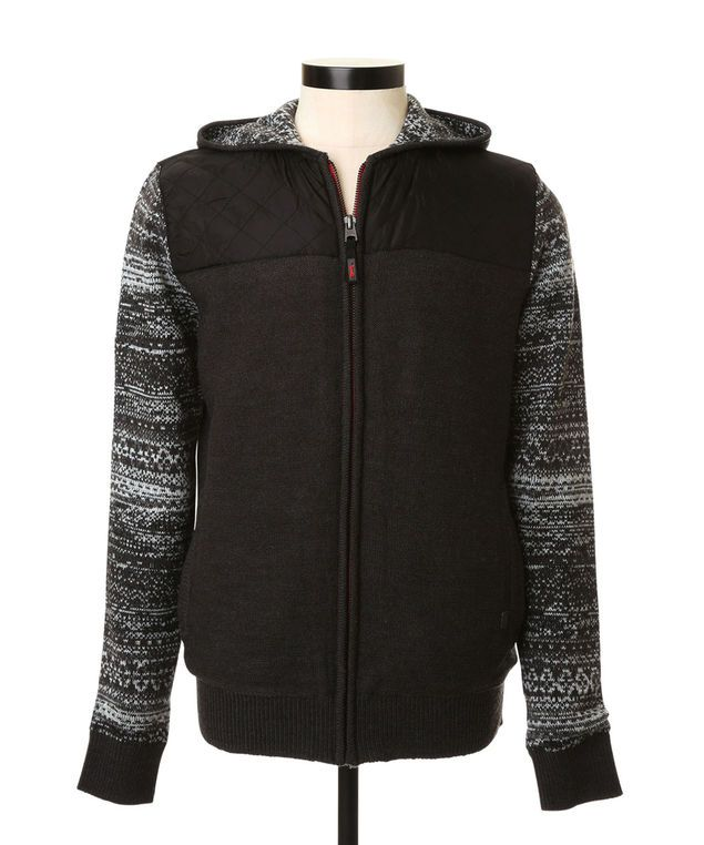 Nylon Quilted Sweater | TRIPLE FIVE SOUL