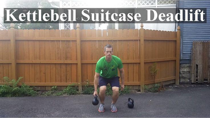 How To: Kettlebell Suitcase Deadlift.. #core #back #legs #deadlift #kettlebell #kettlebells #kettlebelltraining  #crossfit #lifestylemedicine #workoutwednesday #workoutgoals #workoutinstagram #gymlife #gymflow #gymrat #gymselfie #hardwork #hardworkpaysoff