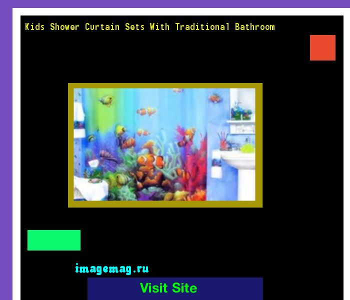 Kids Shower Curtain Sets With Traditional Bathroom 180041 - The Best Image Search