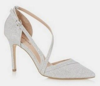 Call it Spring Silver Court Shoes