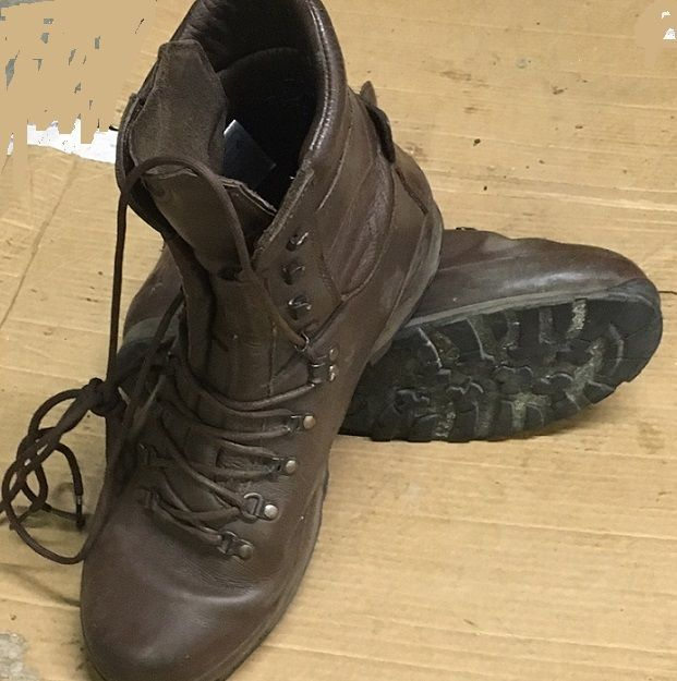 British Army Surplus ALTBERG Leather Brown Boots Work Hunting Hiking Military #Altberg #AltbergBritishArmyBoots