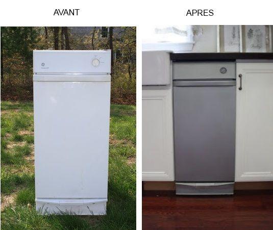 Vos appareils électroménagers ne sont plus en accord avec la nouvelle déco de votre cuisine ? Inutile d'en changer pour l'instant, vous pouvez les repeindre avec la peinture électroménager dite peinture Frigo KEEN.