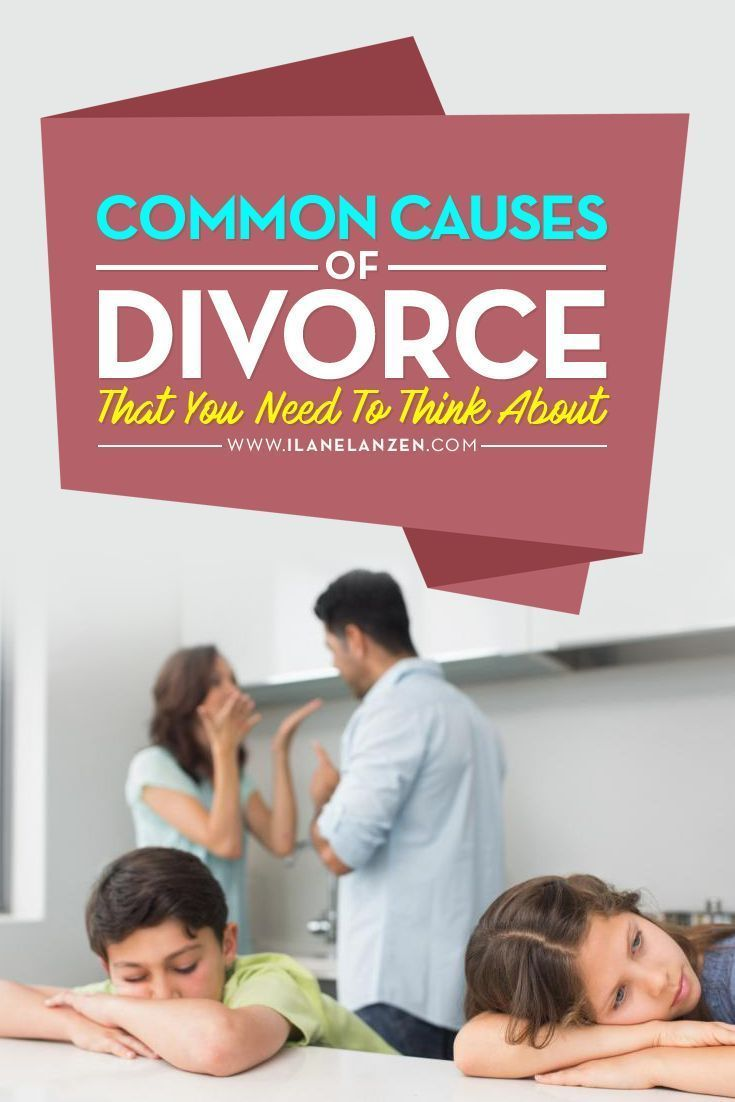 Causes of divorce | Its difficult to say how many marriages end up in divorce, but I think most of us know at least a few people who have been divorced | http://www.ilanelanzen.com/loveandrelationships/common-causes-of-divorce-that-you-need-to-think-abou