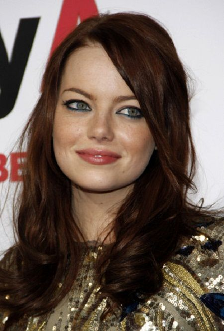 brownish red hair color photo Brownish Red Hair Color Ideas