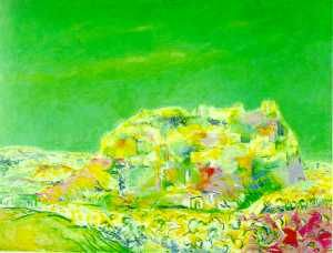 Urpu Ilasmaa, Dream of Toledo, 1967, Oil, 120x100 cm www.clikdesign.fi/ilasmaa