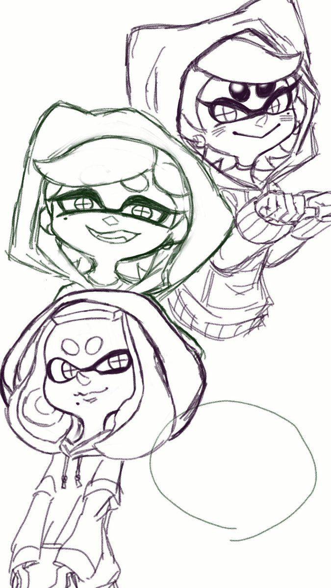 Insertado Splatoon Splatoon Comics Splatoon Squid Sisters