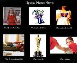 d86a07fae9a554647c680830fa1febb4 special needs mom special needs children what special needs moms do all day autism, asd and adhd,Special Needs Mom Meme