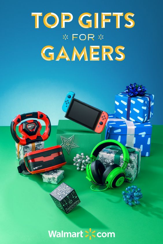 Earn some serious cool points with all the gamers in your life with these great holiday gift ideas at Walmart. From the latest and greatest VR technology to the hottest gear for gamers - you'll find it all at a price you'll love. Shop today.  Top Gifts for Gamers include: Nintendo Switch Console, Merge VR Holo Cube, VR Real Feel Racing, Razer Kraken Pro V2 Headset.