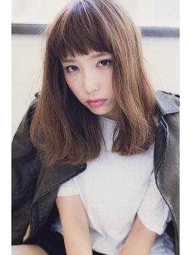 【2015春夏流行】短め前髪♪オンザ眉毛!眉上ショートバングスのミディアム&ロングヘア - NAVER まとめ