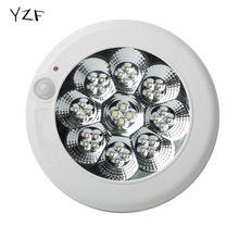 7W / 11W Modern LED mennyezeti fény mozgásérzékelővel Group Ellenőrzött fény módosítása lámpa Nappali Hálószoba (China)