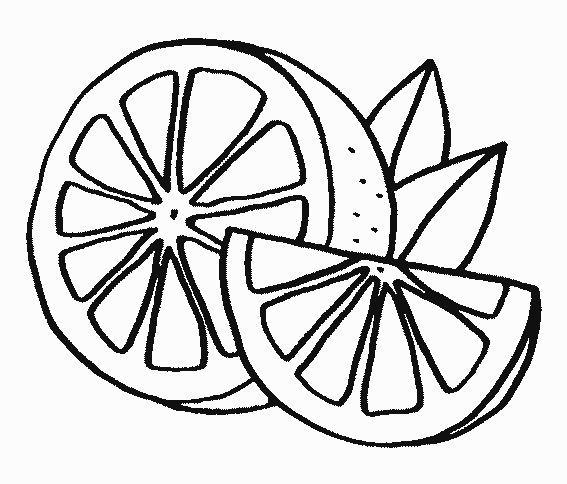 Portakal Boyamasi Boyama Sayfalari Cocuklar Icin Sanat Desenler