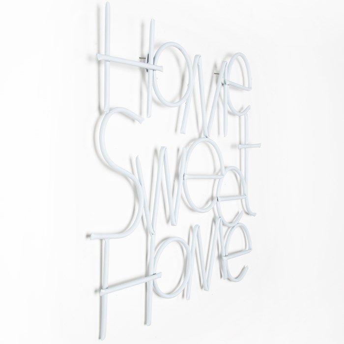 Sweet Home Metal Wall Art