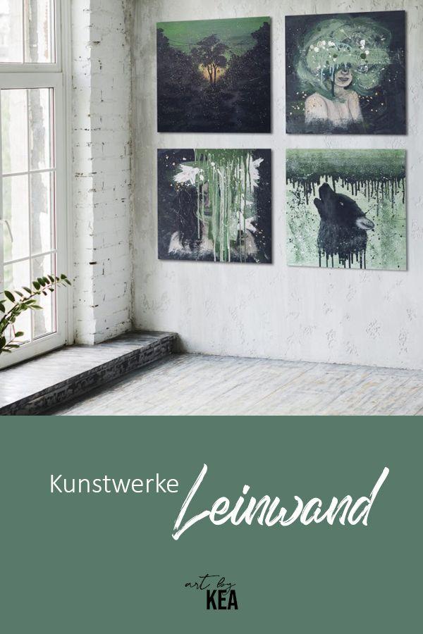 Acrylbilder Auf Leinwand In 2020 Kunstwerke Acrylbilder Kunst
